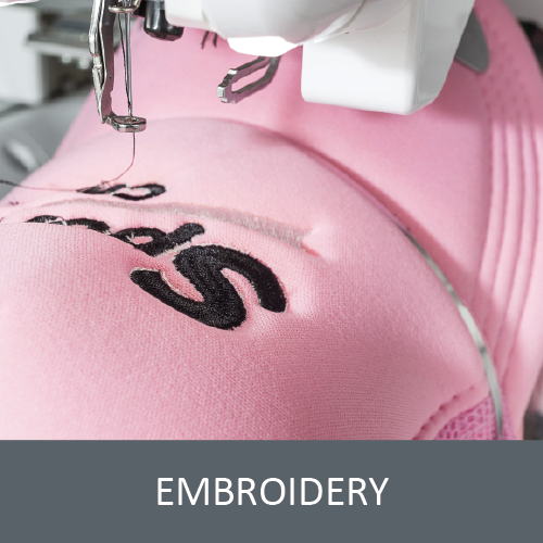 Embroidery on Clothing - Send Us Your Ideas for a Quote - Custom Clothing For You