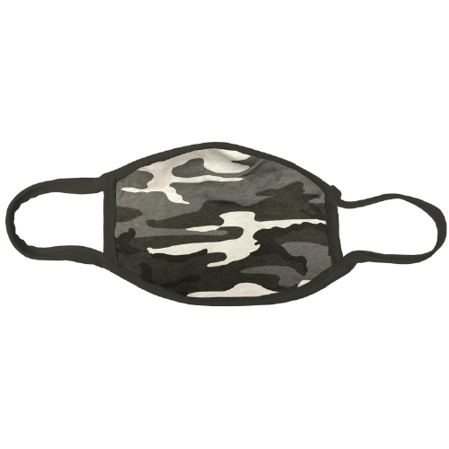 Your logo on a mask - customized masks - 100% cotton camo facemask