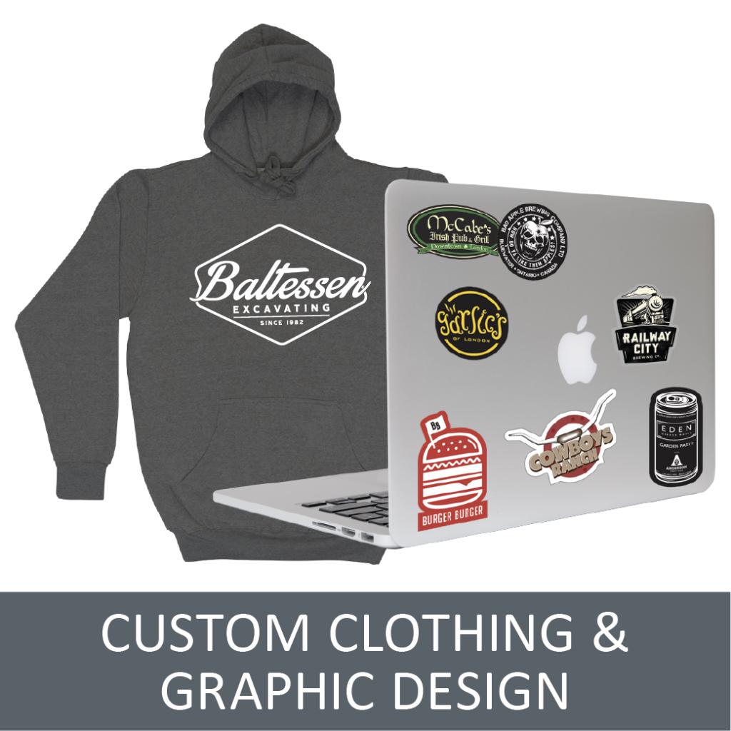 Custom Designed Clothes - Your Logo On A Shirt - CC4U