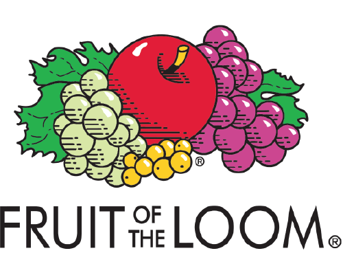 Jailbird Designs Brand Partners - Fruit of the Loom Customized Clothing