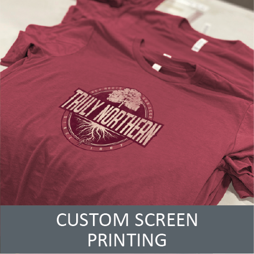 Screen Printing on Clothing - Send Us Your Ideas for a Quote - Custom Clothing For You